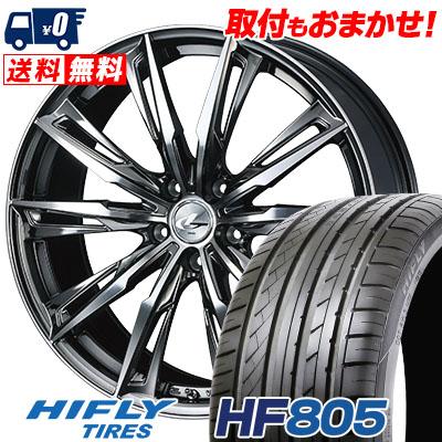 255/35R20 97W XL HIFLY ハイフライ HF805 エイチエフ ハチマルゴ WEDS LEONIS GX ウェッズ レオニス GX サマータイヤホイール4本セット