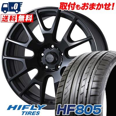 225/55R17 101W XL HIFLY ハイフライ HF805 エイチエフ ハチマルゴ IGNITE XTRACK イグナイト エクストラック サマータイヤホイール4本セット
