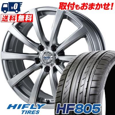 HF805 HIFLY 93W JP110 サマータイヤホイール4本セット【取付対象】 HF805 215/45R18 ハイフライ ザック JP-110 ZACK XL