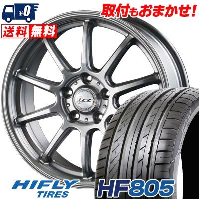 225/45R17 94W XL HIFLY ハイフライ HF805 HF805 LCZ010 LCZ010 サマータイヤホイール4本セット【取付対象】