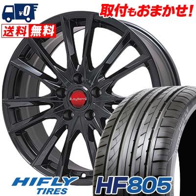 215/45R18 93W XL HIFLY ハイフライ HF805 エイチエフ ハチマルゴ LeyBahn GBX レイバーン GBX サマータイヤホイール4本セット