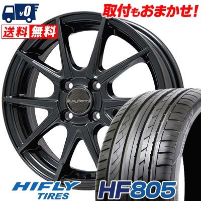 165/50R15 72V HIFLY ハイフライ HF805 エイチエフ ハチマルゴ LeyBahn WGS レイバーン WGS サマータイヤホイール4本セット