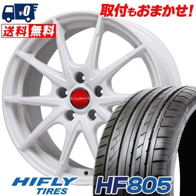 225/55R16 99V XL HIFLY ハイフライ HF805 エイチエフ ハチマルゴ LeyBahn WGS レイバーン WGS サマータイヤホイール4本セット