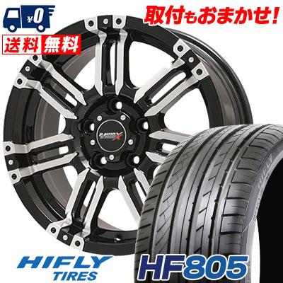 225/50R17 98W XL HIFLY ハイフライ HF805 エイチエフ ハチマルゴ B-MUD X Bマッド エックス サマータイヤホイール4本セット