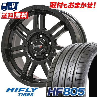 245/40R17 95W HIFLY ハイフライ HF805 エイチエフ ハチマルゴ B-MUD X Bマッド エックス サマータイヤホイール4本セット