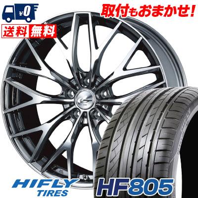 245/40R19 98W XL HIFLY ハイフライ HF805 エイチエフ ハチマルゴ weds LEONIS MX ウェッズ レオニス MX サマータイヤホイール4本セット