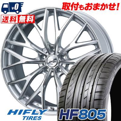 205/50R17 93W XL HIFLY ハイフライ HF805 HF805 weds LEONIS MX ウェッズ レオニス MX サマータイヤホイール4本セット