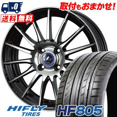 215/40R17 87W XL HIFLY ハイフライ HF805 HF805 weds LEONIS NAVIA 05 ウエッズ レオニス ナヴィア 05 サマータイヤホイール4本セット