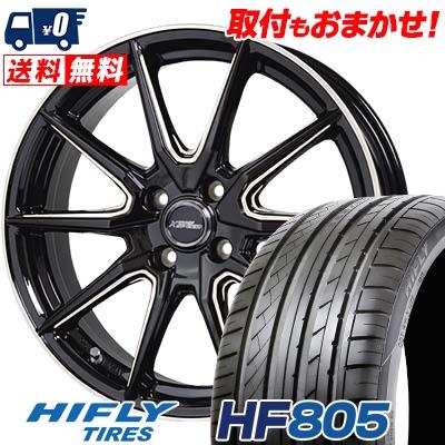 205/45R17 88W XL HIFLY ハイフライ HF805 HF805 CROSS SPEED PREMIUM RS10 クロススピード プレミアム RS10 サマータイヤホイール4本セット