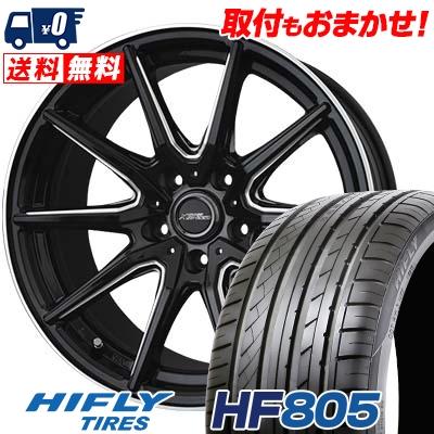 205/50R17 93W XL HIFLY ハイフライ HF805 HF805 CROSS SPEED PREMIUM RS10 クロススピード プレミアム RS10 サマータイヤホイール4本セット