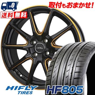 205/40R17 84W HIFLY ハイフライ HF805 HF805 CROSS SPEED PREMIUM RS10 クロススピード プレミアム RS10 サマータイヤホイール4本セット