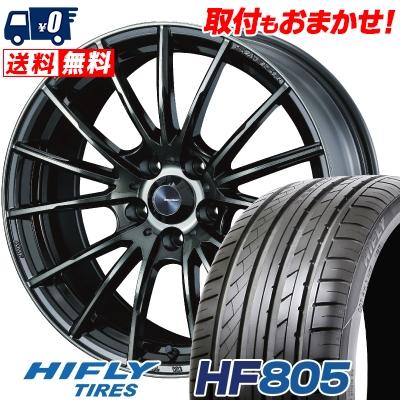 235/45R18 98W XL HIFLY ハイフライ HF805 エイチエフ ハチマルゴ WedsSport SA-35R ウェッズスポーツ SA-35R サマータイヤホイール4本セット
