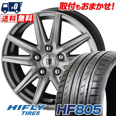 205/55R16 94W XL HIFLY ハイフライ HF805 エイチエフ ハチマルゴ SEIN SS ザイン エスエス サマータイヤホイール4本セット