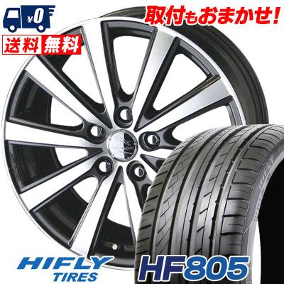 225/55R16 99V XL HIFLY ハイフライ HF805 HF805 SMACK VIR スマック VI-R サマータイヤホイール4本セット