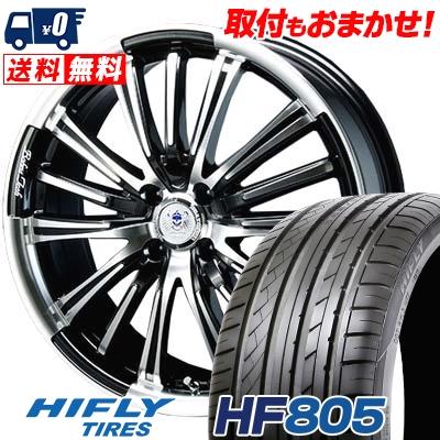 165/50R15 72V HIFLY ハイフライ HF805 HF805 BAHNS TECK VR-01 バーンズテック VR01 サマータイヤホイール4本セット