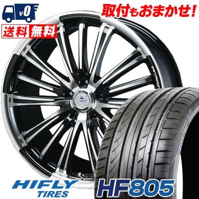 245/45R19 102W XL HIFLY ハイフライ HF805 HF805 BAHNS TECK VR-01 バーンズテック VR01 サマータイヤホイール4本セット