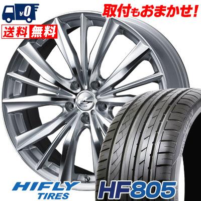 205/55R16 94W XL HIFLY ハイフライ HF805 HF805 weds LEONIS VX ウエッズ レオニス VX サマータイヤホイール4本セット