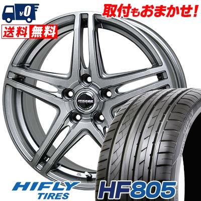 215/55R16 97V XL HIFLY ハイフライ HF805 エイチエフ ハチマルゴ WAREN W04 ヴァーレン W04 サマータイヤホイール4本セット