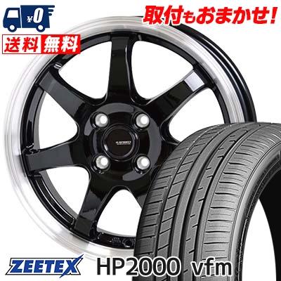 205/55R15 88V ZEETEX ジーテックス HP2000vfm HP2000vfm G.speed P-03 ジースピード P-03 サマータイヤホイール4本セット