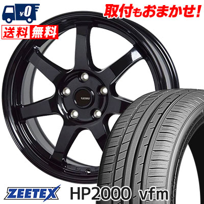 225/40R18 92Y XL ZEETEX ジーテックス HP2000vfm HP2000vfm G.speed G-03 Gスピード G-03 サマータイヤホイール4本セット