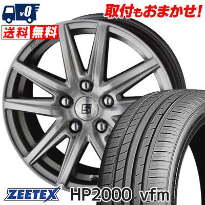 215/45R17 91W XL ZEETEX ジーテックス HP2000vfm HP2000vfm SEIN SS ザイン エスエス サマータイヤホイール4本セット