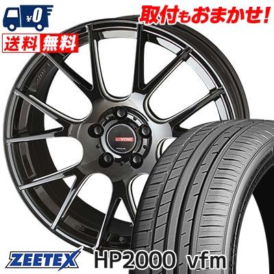 215/45R17 91W XL ZEETEX ジーテックス HP2000vfm HP2000vfm CIRCLAR RM-7 サーキュラー RM-7 サマータイヤホイール4本セット