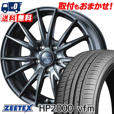 215/35R18 ZEETEX ジーテックス HP2000vfm HP2000vfm VELVA SPORT ヴェルヴァ スポルト サマータイヤホイール4本セット