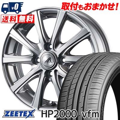 215/45R16 90W XL ZEETEX ジーテックス HP2000vfm HP2000vfm AZ sports YL-10 AZスポーツ YL-10 サマータイヤホイール4本セット