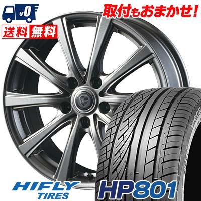 235/60R18 107V XL HIFLY ハイフライ HP801 エイチピー ハチマルイチ CLAIRE DG10 クレール DG10 サマータイヤホイール4本セット