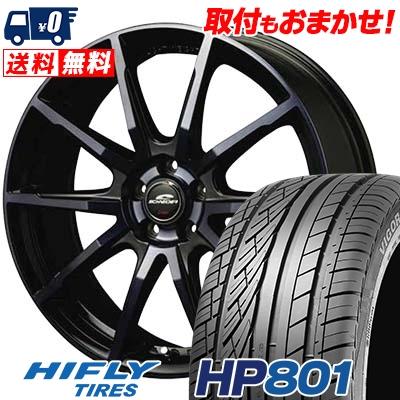 215/60R17 96H XL HIFLY ハイフライ HP801 HP801 SCHNEIDER DR-01 シュナイダー DR-01 サマータイヤホイール4本セット