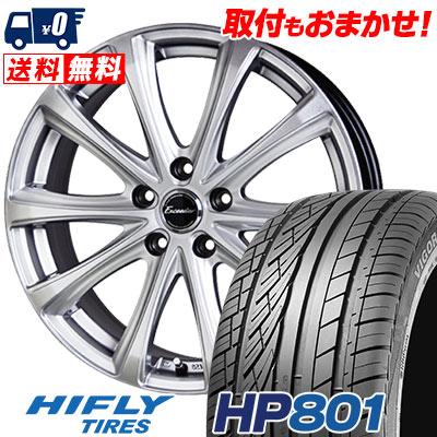 225/60R18 100V HIFLY ハイフライ HP801 エイチピー ハチマルイチ Exceeder E04 エクシーダー E04 サマータイヤホイール4本セット