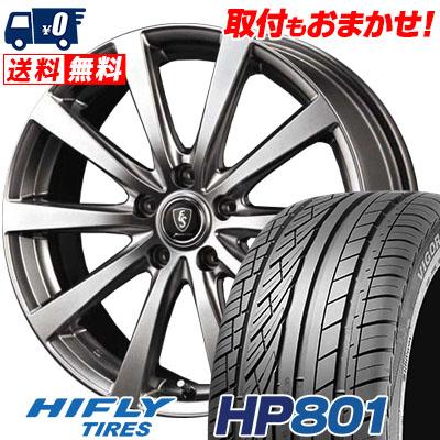 215/55R18 99V XL HIFLY ハイフライ HP801 HP801 Euro Speed G10 ユーロスピード G10 サマータイヤホイール4本セット