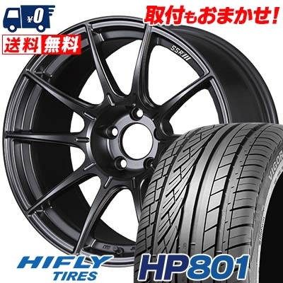 245/55R19 103V HIFLY ハイフライ HP801 エイチピー ハチマルイチ SSR GT X01 SSR GT X01 サマータイヤホイール4本セット