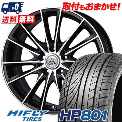 215/60R17 96H XL HIFLY ハイフライ HP801 エイチピー ハチマルイチ Kashina FV7 カシーナ FV7 サマータイヤホイール4本セット