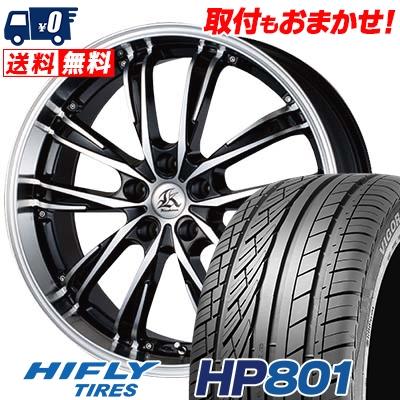 215/60R17 96H XL HIFLY ハイフライ HP801 エイチピー ハチマルイチ Kashina XV5 カシーナ XV5 サマータイヤホイール4本セット