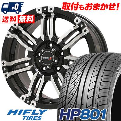 215/60R17 96H XL HIFLY ハイフライ HP801 エイチピー ハチマルイチ B-MUD X Bマッド エックス サマータイヤホイール4本セット