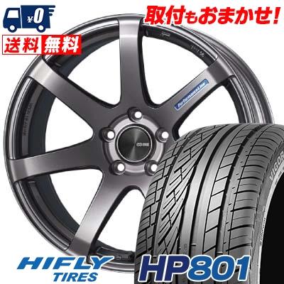 235/55R18 100V HIFLY ハイフライ HP801 HP801 ENKEI PerformanceLine PF-07 エンケイ パフォーマンスライン PF07 サマータイヤホイール4本セット