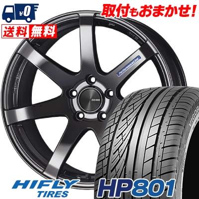 245/55R19 103V HIFLY ハイフライ HP801 HP801 ENKEI PerformanceLine PF-07 エンケイ パフォーマンスライン PF07 サマータイヤホイール4本セット