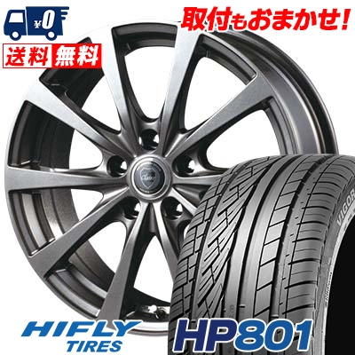 215/60R17 96H XL HIFLY ハイフライ HP801 エイチピー ハチマルイチ CLAIRE RG10 クレール RG10 サマータイヤホイール4本セット