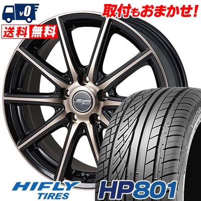 235/60R18 107V XL HIFLY ハイフライ HP801 エイチピー ハチマルイチ MONZA R VERSION Sprint モンツァ Rヴァージョン スプリント サマータイヤホイール4本セット