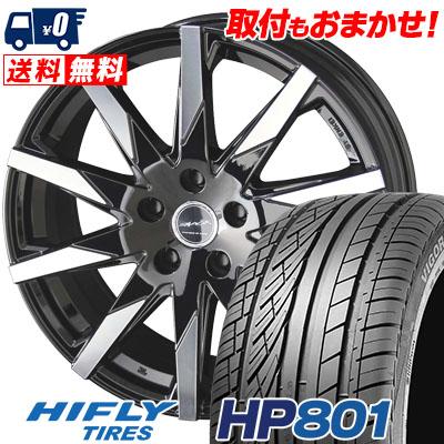 235/55R18 100V HIFLY ハイフライ HP801 HP801 SMACK SFIDA スマック スフィーダ サマータイヤホイール4本セット