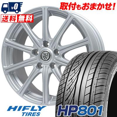 235/55R18 100V HIFLY ハイフライ HP801 エイチピー ハチマルイチ TRG-SS10 TRG SS10 サマータイヤホイール4本セット