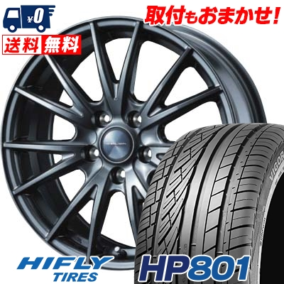 215/60R17 HIFLY ハイフライ HP801 HP801 VELVA SPORT ヴェルヴァ スポルト サマータイヤホイール4本セット