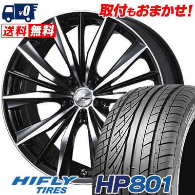 235/60R18 107V XL HIFLY ハイフライ HP801 HP801 weds LEONIS VX ウエッズ レオニス VX サマータイヤホイール4本セット
