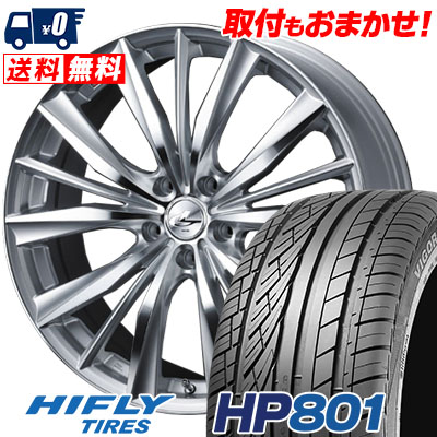 215/60R17 96H XL HIFLY ハイフライ HP801 HP801 weds LEONIS VX ウエッズ レオニス VX サマータイヤホイール4本セット
