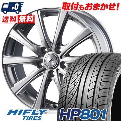 215/60R17 96H XL HIFLY ハイフライ HP801 エイチピー ハチマルイチ AZ sports YL-10 AZスポーツ YL-10 サマータイヤホイール4本セット