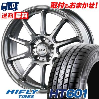 215/70R16 100H HIFLY ハイフライ HT601 エイチティー ロクマルイチ LCZ010 LCZ010 サマータイヤホイール4本セット