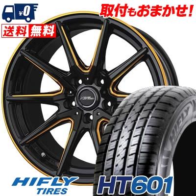 225/60R17 99H HIFLY ハイフライ HT601 エイチティー ロクマルイチ CROSS SPEED PREMIUM RS10 クロススピード プレミアム RS10 サマータイヤホイール4本セット