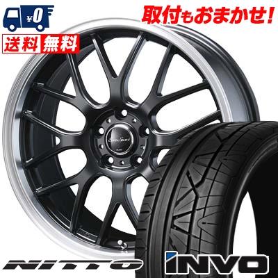255/45R20 101W NITTO ニットー INVO インヴォ Eoro Sport Type 805 ユーロスポーツ タイプ805 サマータイヤホイール4本セット