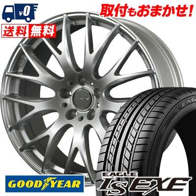 245/40R20 99W XL Goodyear グッドイヤー LS EXE LS エグゼ RAYS HOMURA 2X9 レイズ ホムラ ツー・バイ・ナイン サマータイヤホイール4本セット